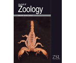 Journal of Zoology cover